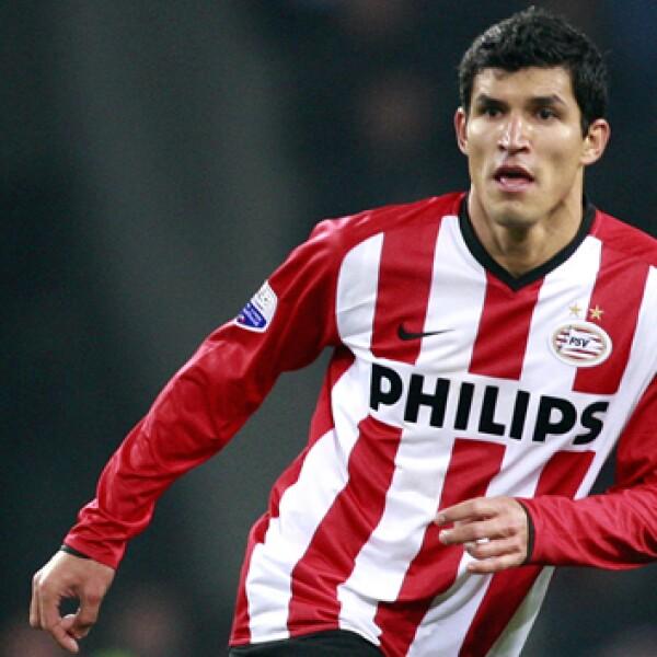 Después de consolidarse con las Chivas, Francisco Javier Rodríguez optó por emigrar al PSV holandés