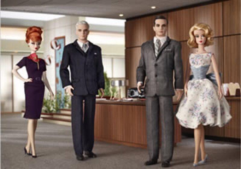 Mattel lanzará nuevos muñecos basados en una serie de TV popular en EU. (Foto: Mattel)