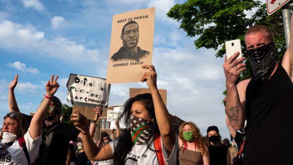 Protestas por el caso de la muerte de George Floyd.