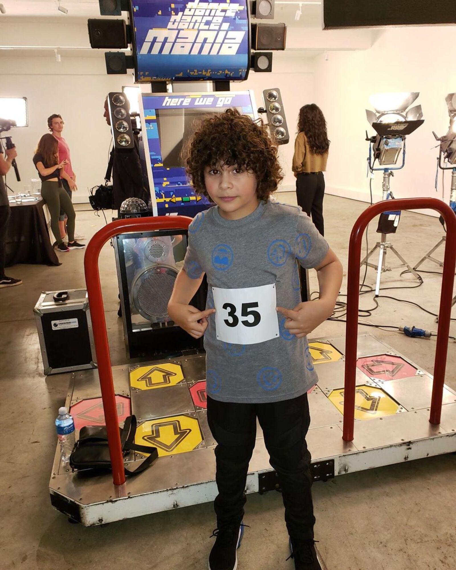 Carson White de 11 años interpreta a Brad Evans en The Kissing Booth
