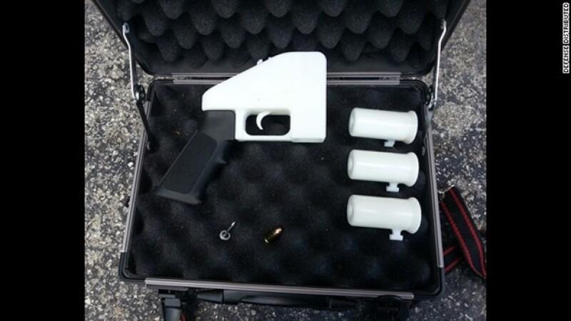 pistola, impresion en 3d