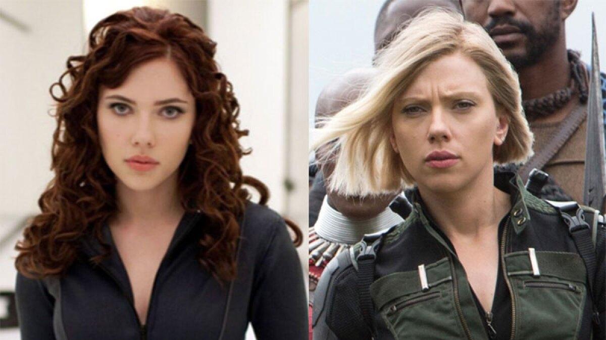 Así se veían 'The Avengers' hace 10 años