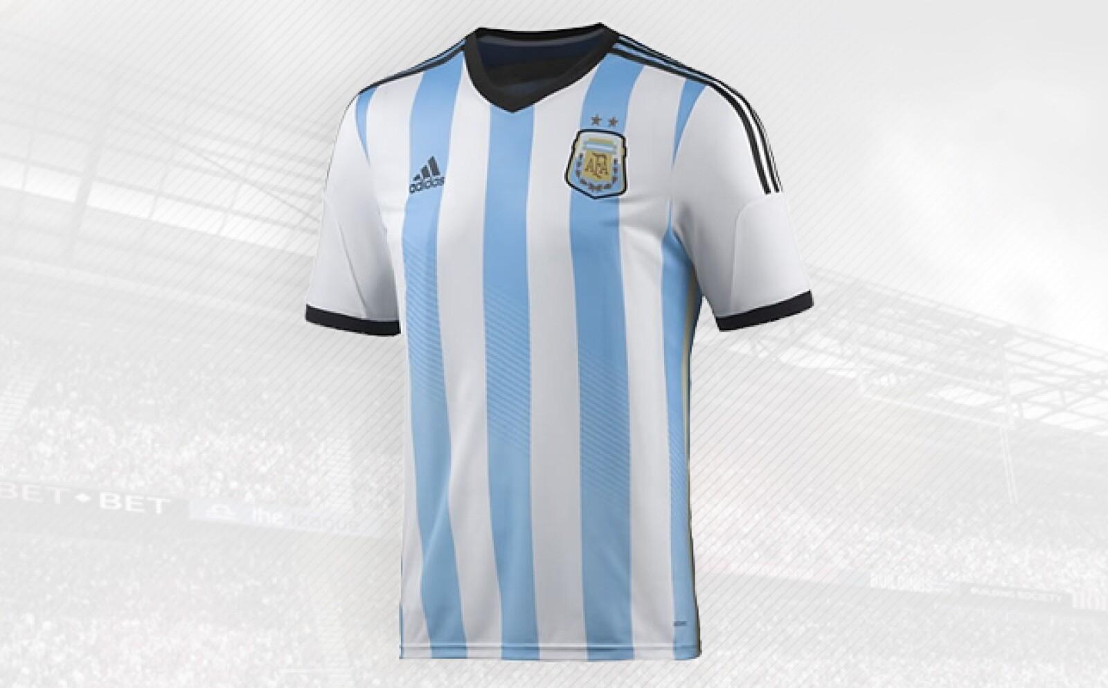 La albiceleste es una de las playeras insignias de Adidas, y su contrato actual vence hasta 2022.