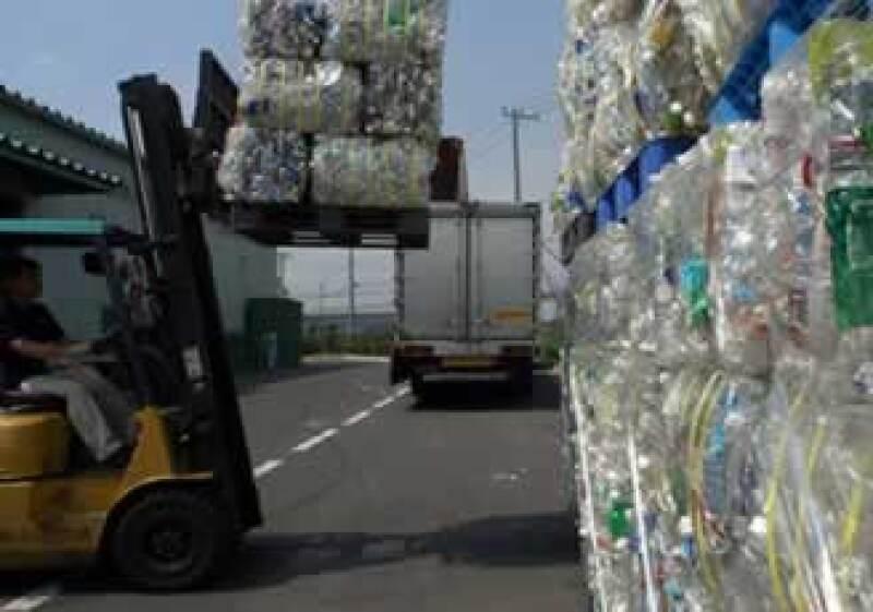 Reciclado de plástico (Foto: AP)