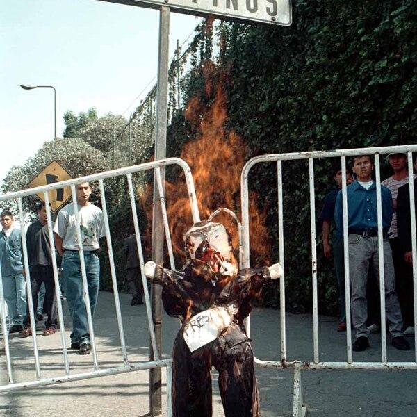 Sede de protestas