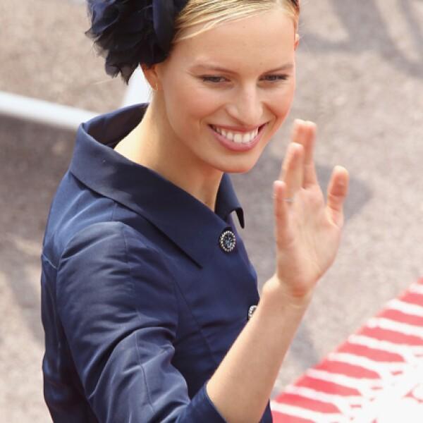 La modelo Karolina Kurkova.