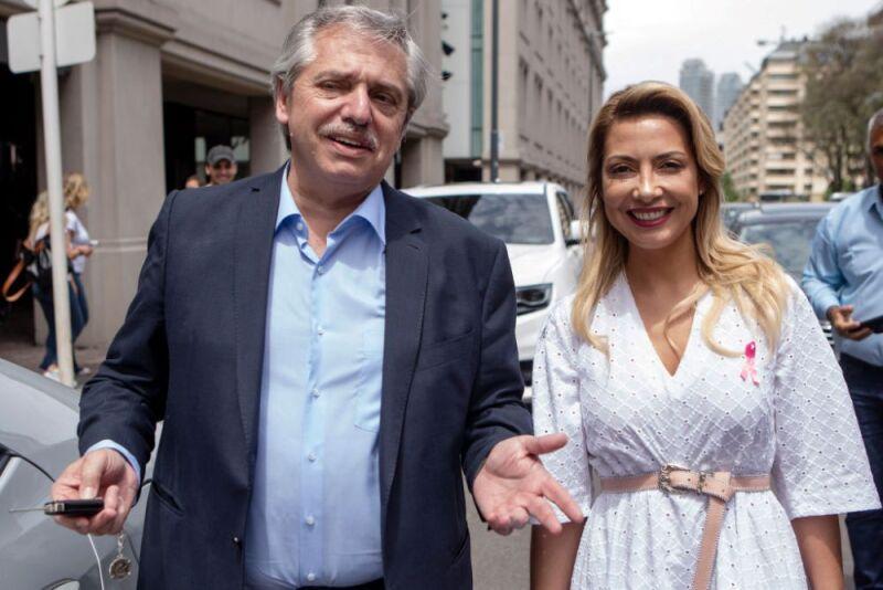 Fabiola Yáñez primera dama de Argentina.jpg