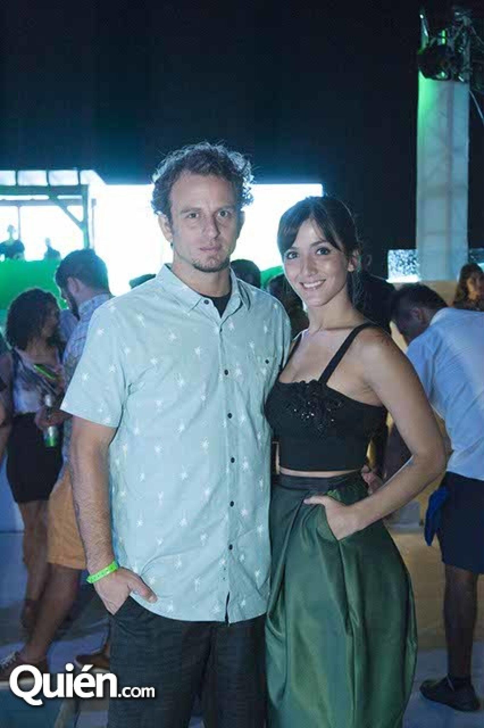 Fredd Londoña y Eréndira Ibarra