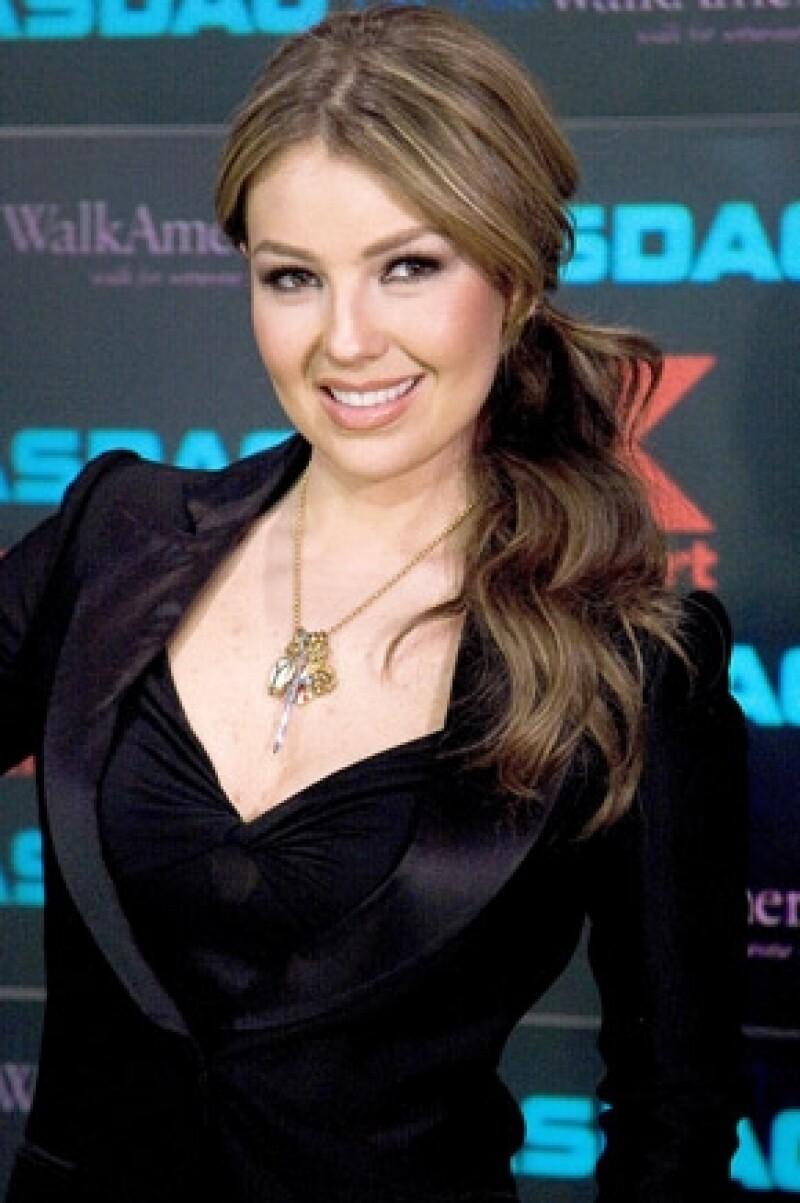 Desde 2002, Thalía ha colaborado para Kmart.