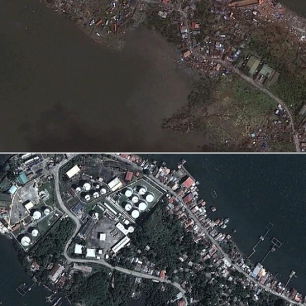 tacloban satelite