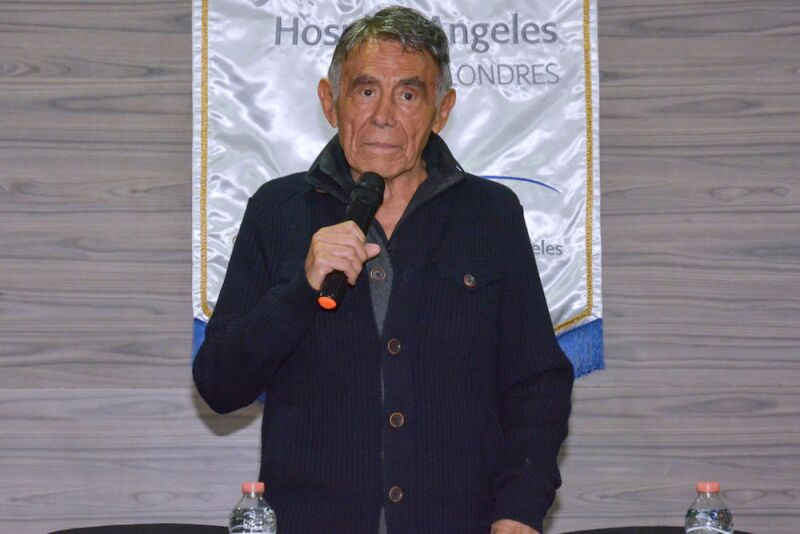 Actor Hector Suarez Press Conference In Mexico City