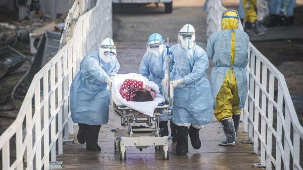 CHINA-HUBEI-WUHAN-HUOSHENSHAN HOSPITAL-PATIENTS (CN)
