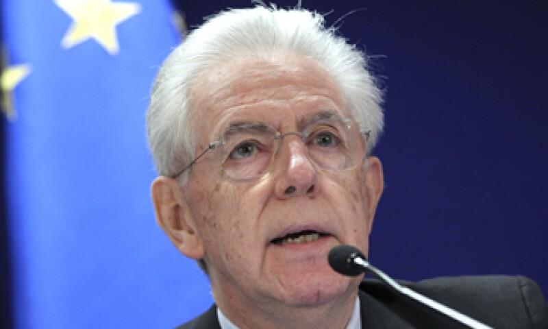 Mario Monti fue miembro de la Comisión Europea y es respetado por los dirigentes del continente. (Foto: AP)