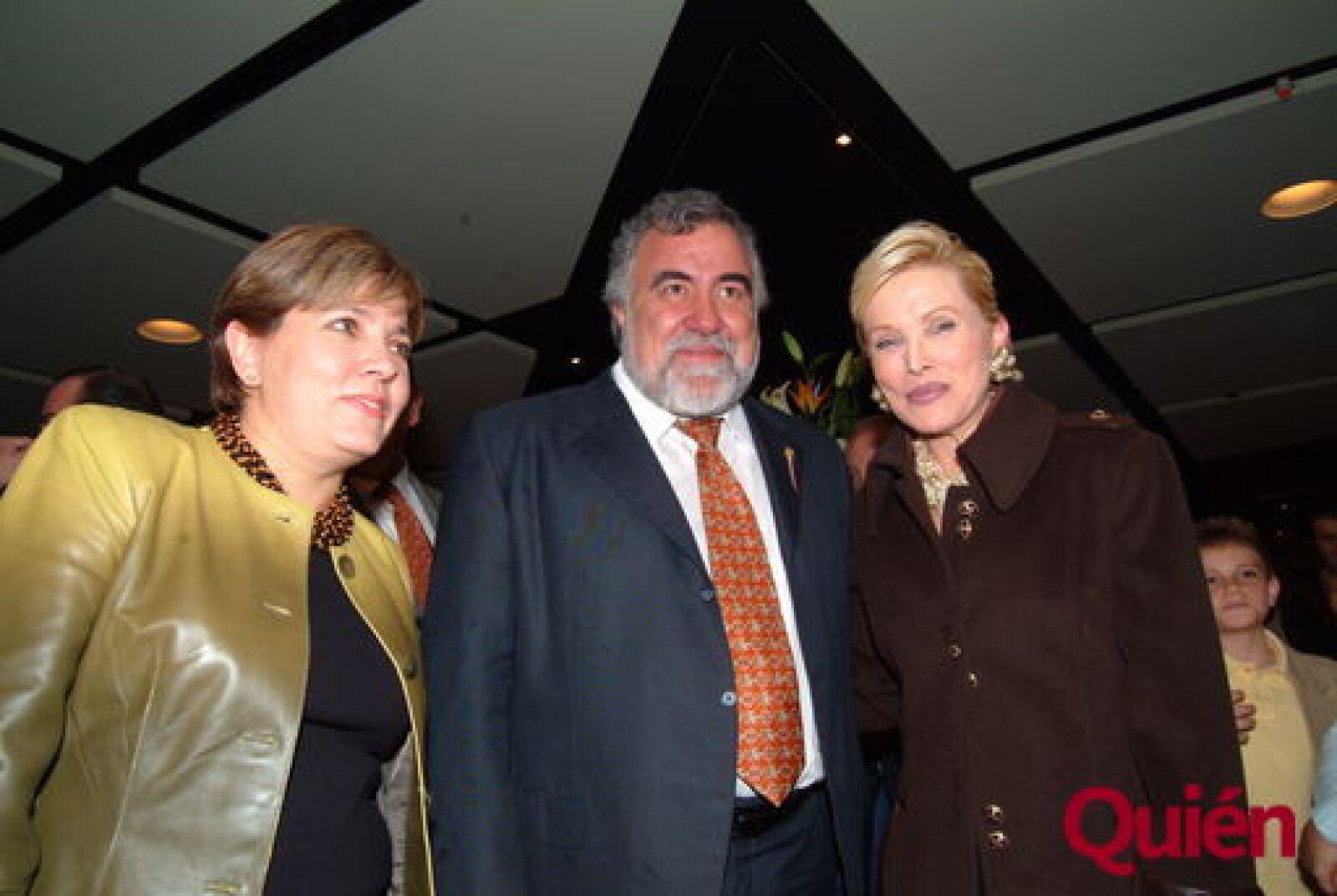 Marcela Briz, Alejandro Encinas, Raquel Bessudo