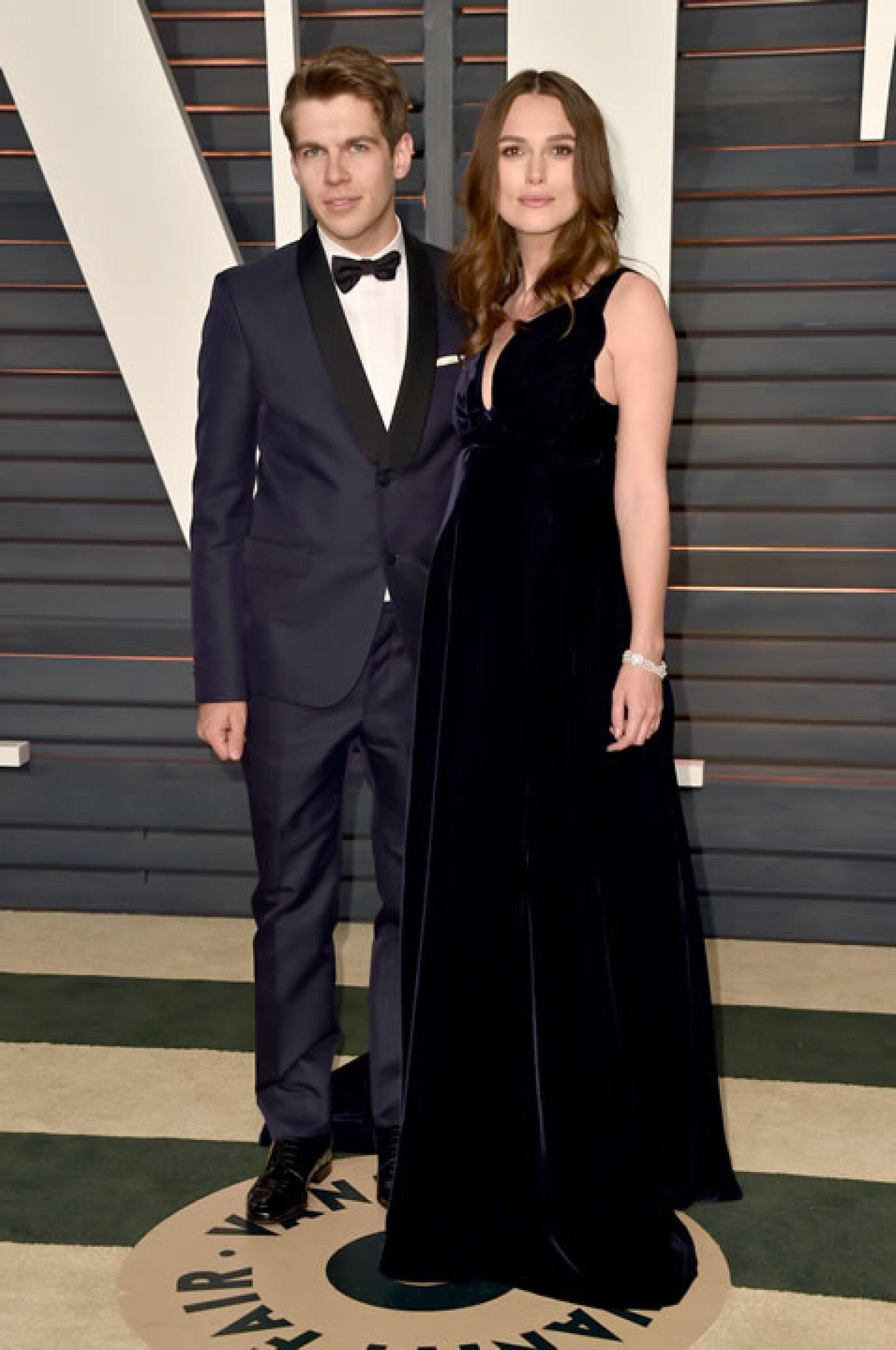 James Righton y Keira Knightley