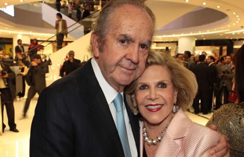 Alberto Baillères y Teresa Gual