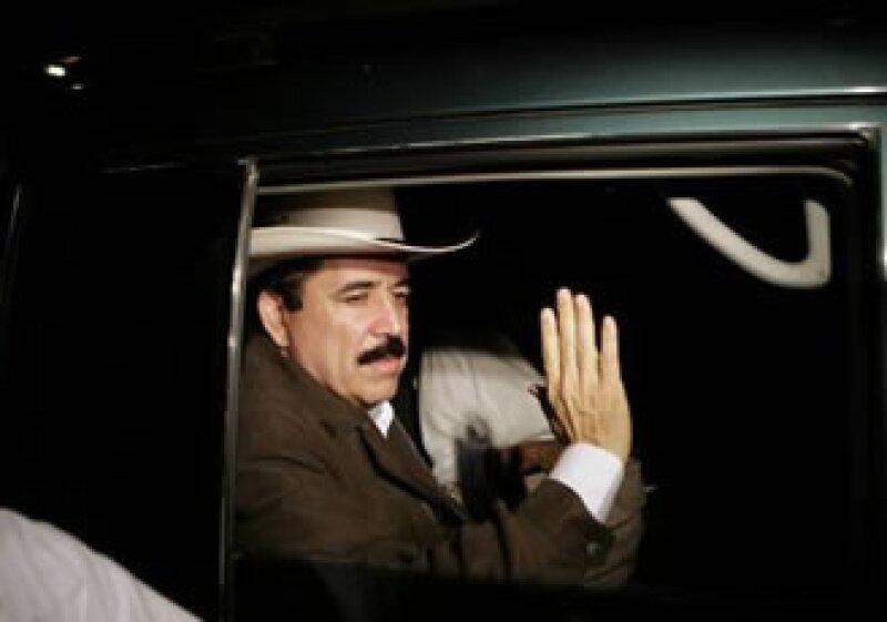 Zelaya intentará esta semana volver a su tierra natal por la frontera con Nicaragua. (Foto: Reuters)