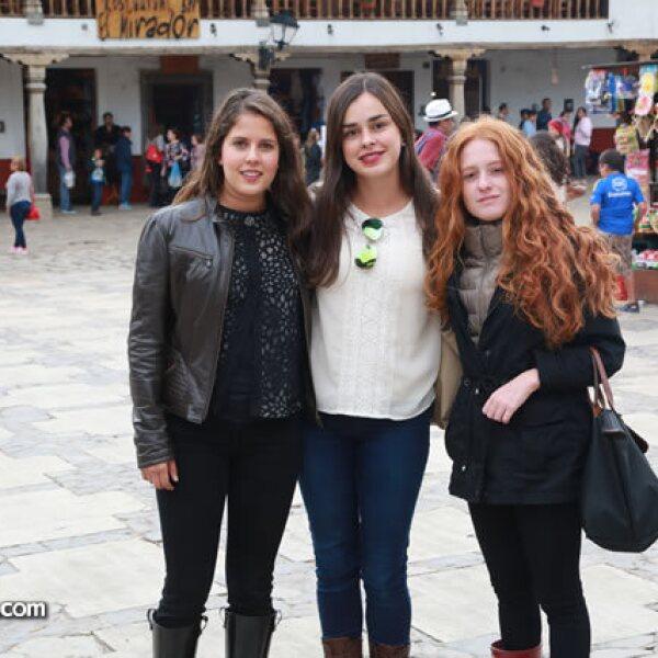 Regina Orozco,Gianina Salcedo y Andrea Ortiz