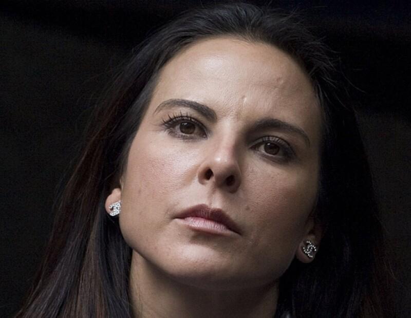 "Kate del Castillo alcanzó la fama en México, en la telenovela ""Muchachitas""."