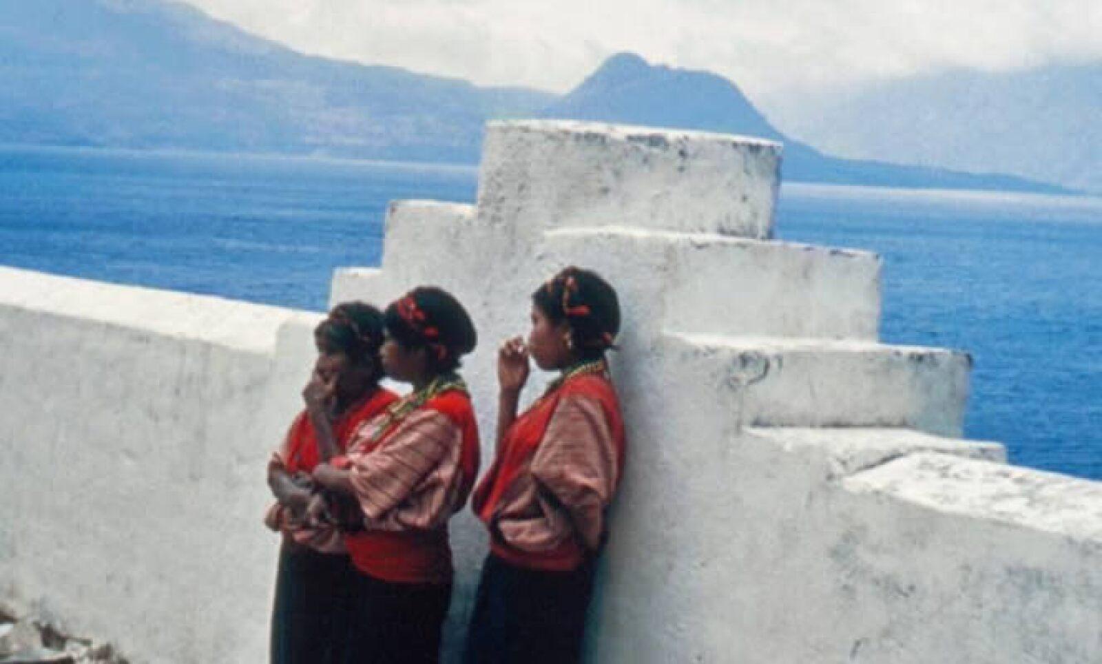 El pintor fue uno de los primeros en fotografiar a índigenas guatemaltecos, a pesar de la creencia de que las cámaras roban el alma.