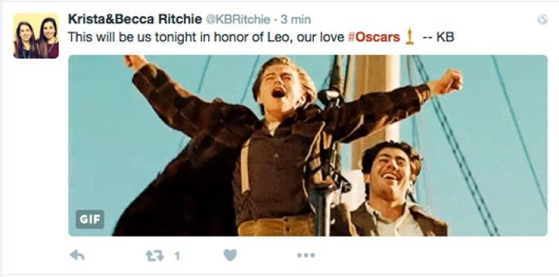 A menos de una hora que inicie la 88º edición de los premios de la Academia, Leo, que está nominado a Mejor Actor, ya es la burla de las redes sociales.