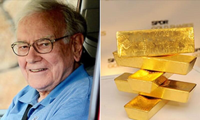 Warren Buffet se niega a invertir en oro a pesar de la racha alcista de este año. (Foto: Cortesía CNNMoney)