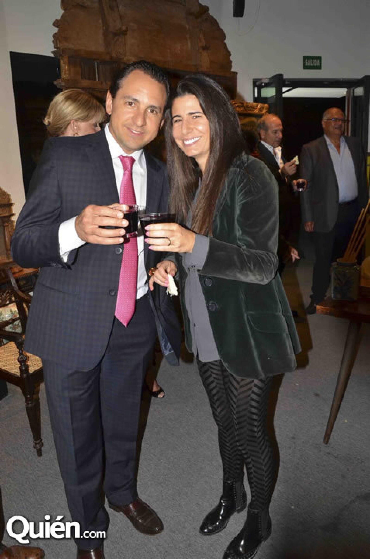 Juan Pablo Carranza y Daniela Cámara
