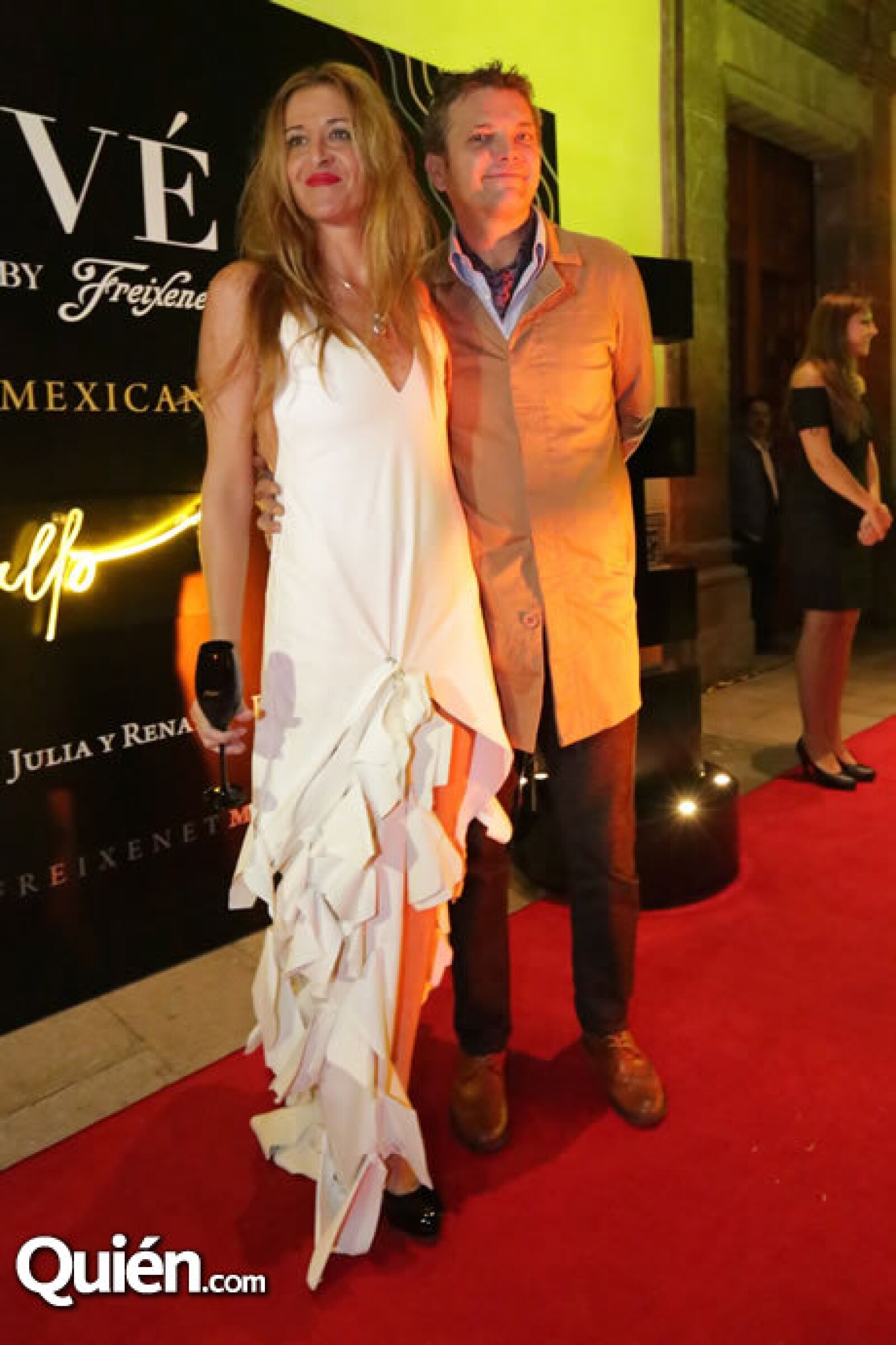 Bibiana y Mauricio Olvera