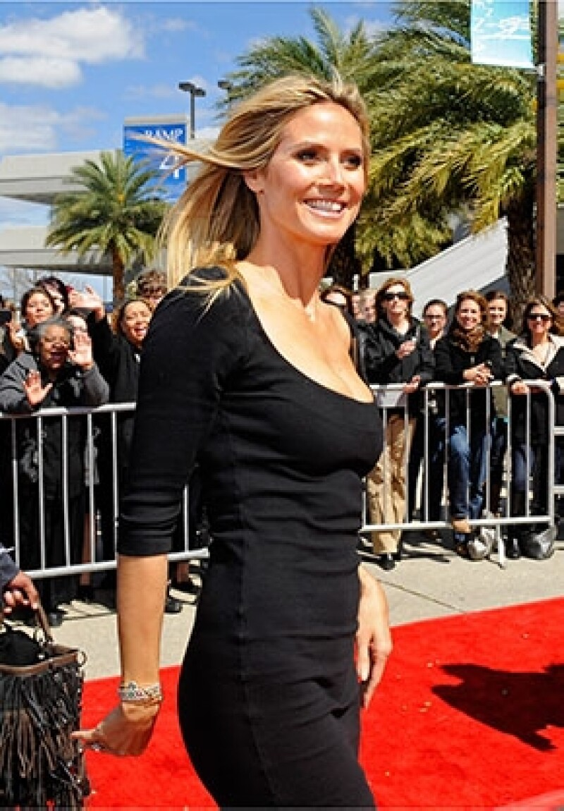 La modelo se sumó al jurado de la competencia televisiva America&#39s Got Talent.
