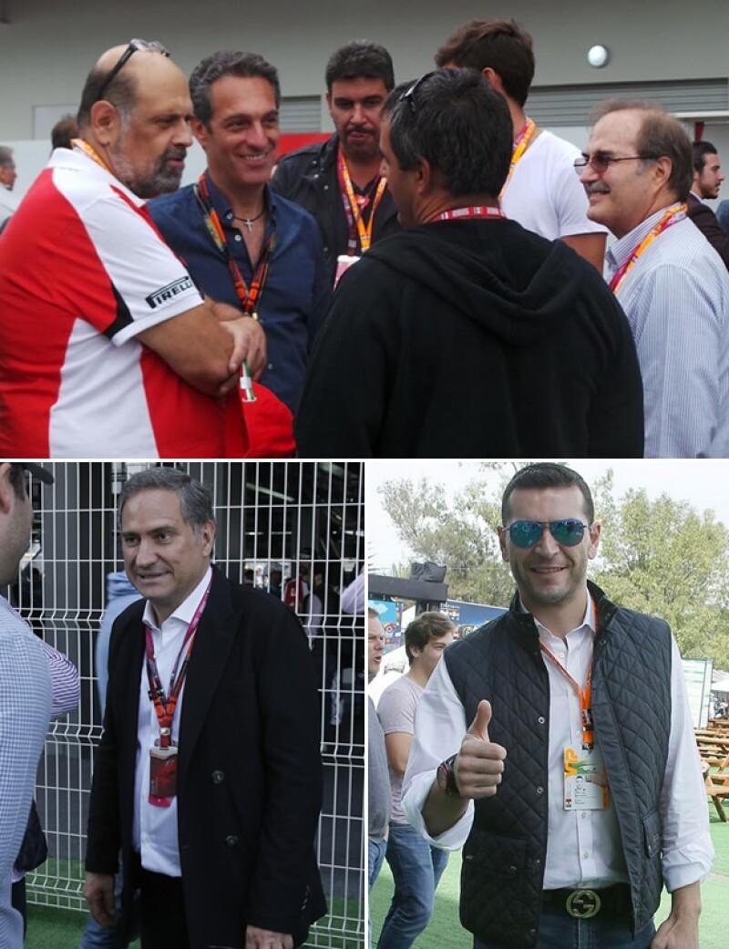 Carlos Slim Domit, Alejandro Soberón y Martín Fuentes fueron sólo algunos de los asistentes al evento que no pararon de disfrutarlo al máximo.