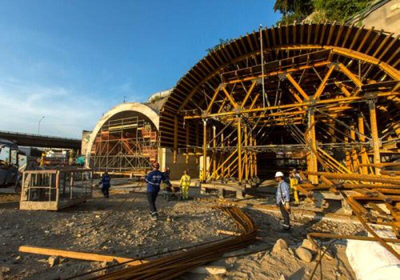 Construcci�n R�o de Janeiro