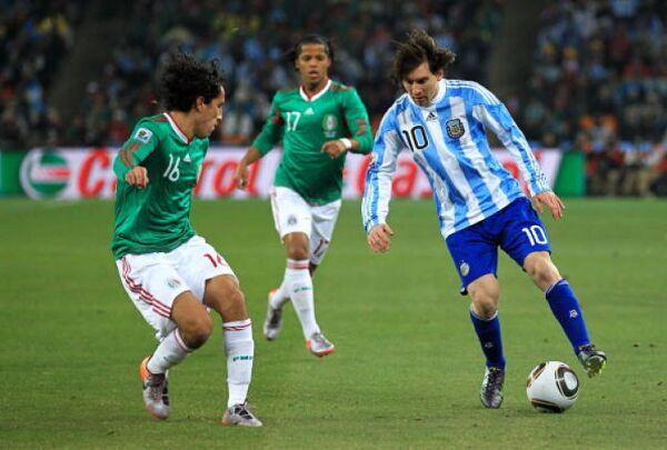 México Argentina Sudáfrica 2010