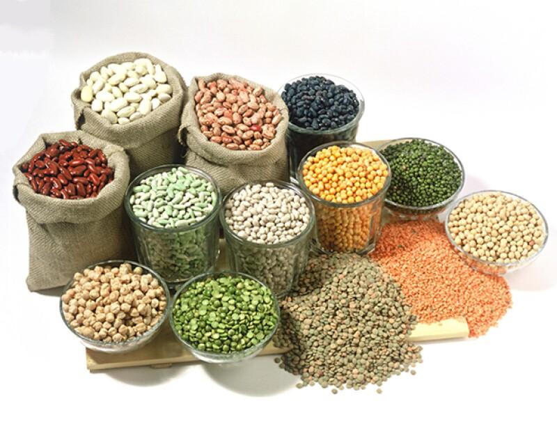 Consume legumbres y nueces para obtener zinc.