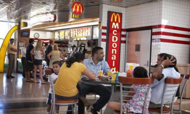 McDonald's reportó una caída de 1.7% en sus ventas en restaurantes abiertos en EU..  (Foto: Getty Images)