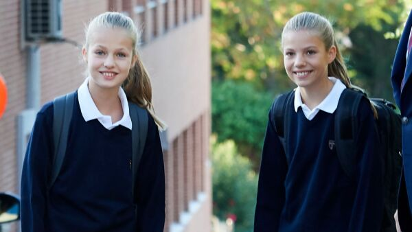 Spanish Royals Attend First Day Of School