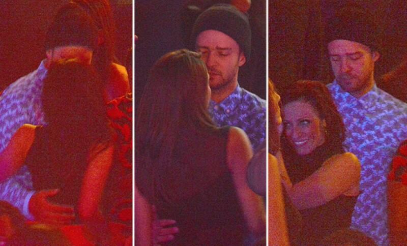 Así captaron a Timberlake con otra que no era Jessica Biel en un antro de París.