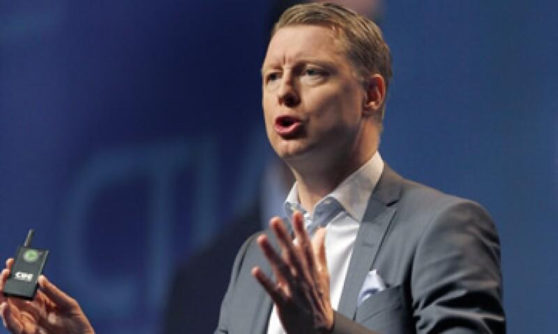 Vestberg participó en el International Consumer Electronics Show 2013 de Las Vegas (Foto: AP)