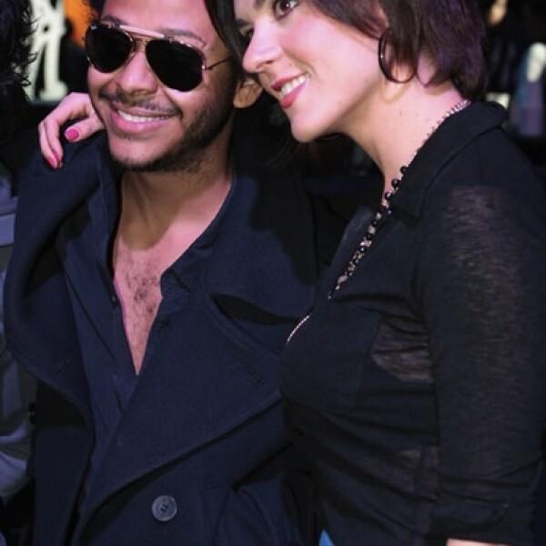 Kalimba y Zoraida Gómez