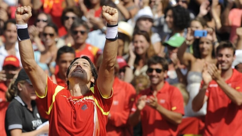 David Ferrer clasifica a la final de Copa Davis
