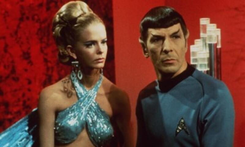 'Spock', interpretado por Leonard Nimoy, fue uno de los personajes muy populares tanto en la serie de televisión como en el cine (Foto: Getty Images/Archivo )