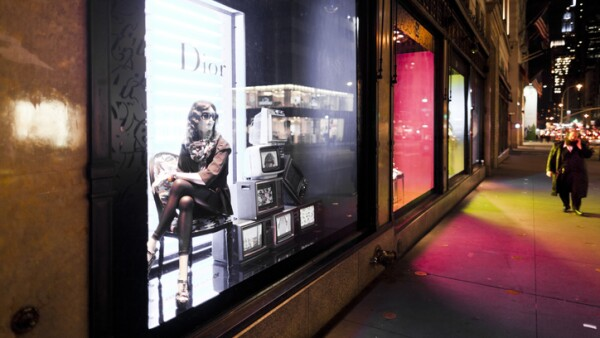 Dior store in the Fifth Avenue New York City