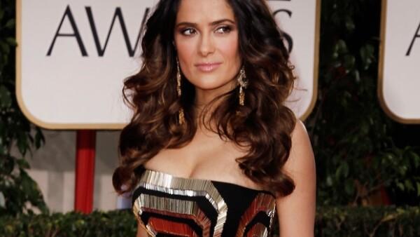 Salma ha sido reconocida por su labor como actriz de cine.