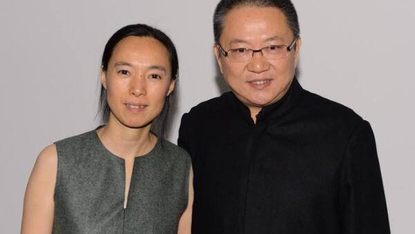 Wang Shu y esposa
