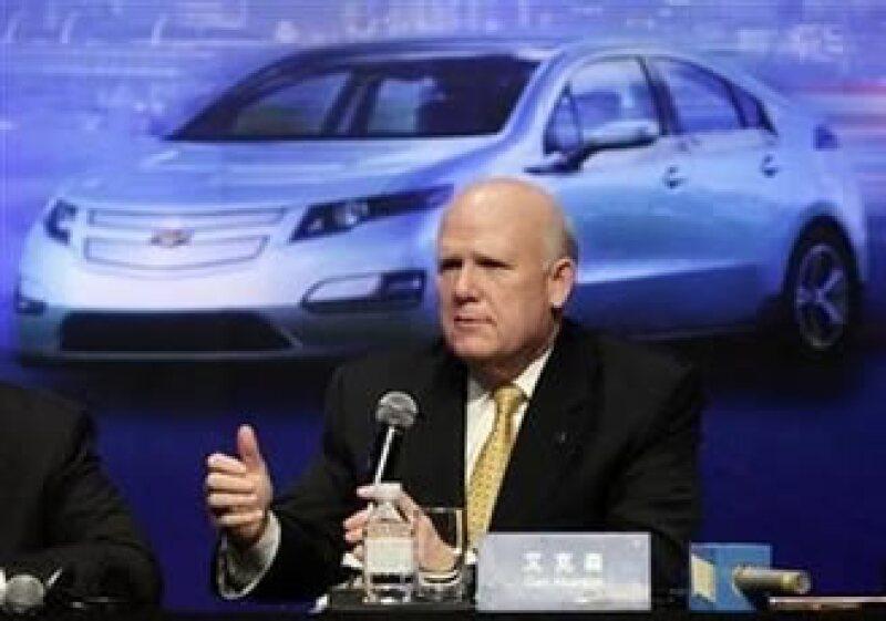 Daniel Akerson, CEO de GM, pidió al Gobierno y Congreso de EU llegar a un acuerdo con el déficit de EU. (Foto: Reuters)