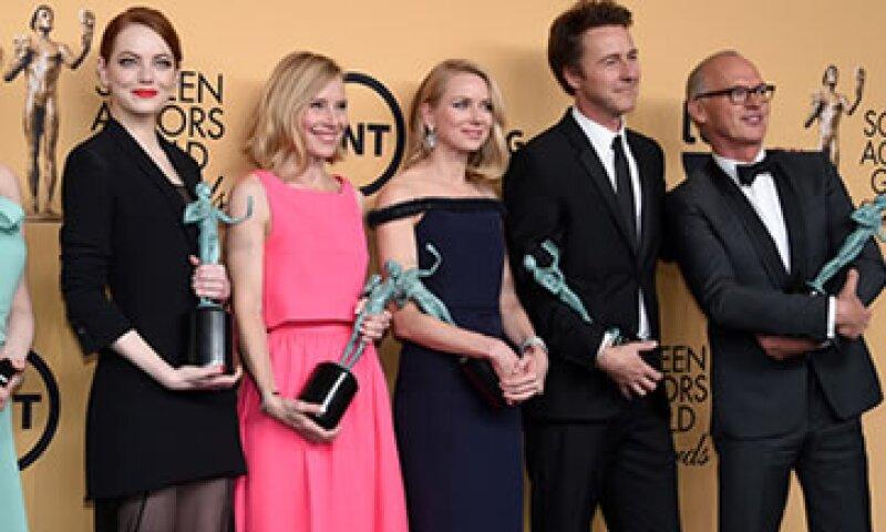 La película Birdman cuenta con nueve nominaciones al Oscar. (Foto: Getty Images)