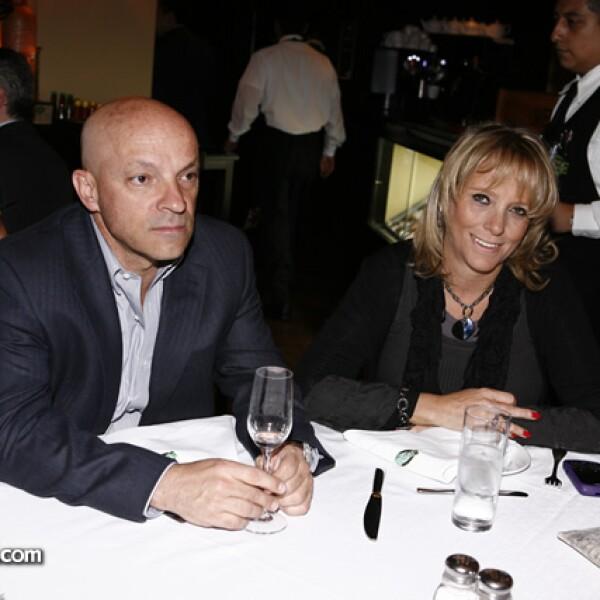 Ignacio Torres y Verónica Bru