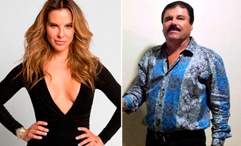 Kate se reunió en con El Chapo para supuestamente producir una película biográfica del capo.