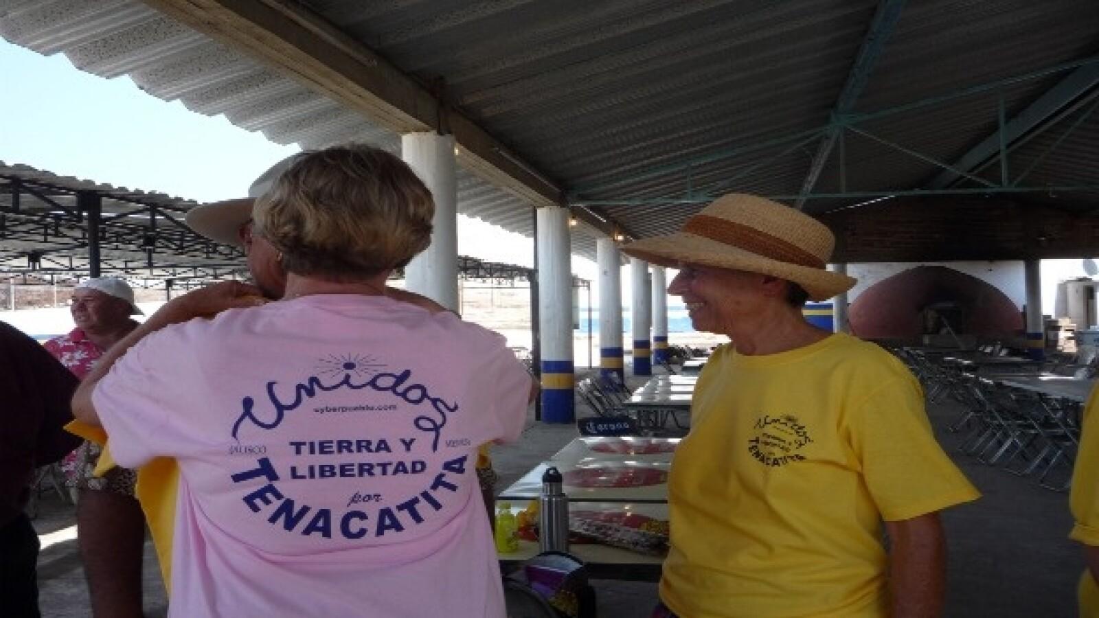 Extranjeros apoyan causa Tenacatita