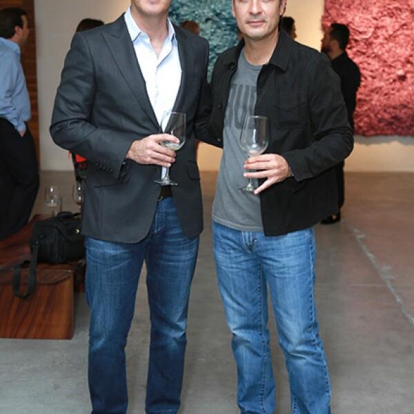 Rafael Saldaña y Gabriel Elizondo