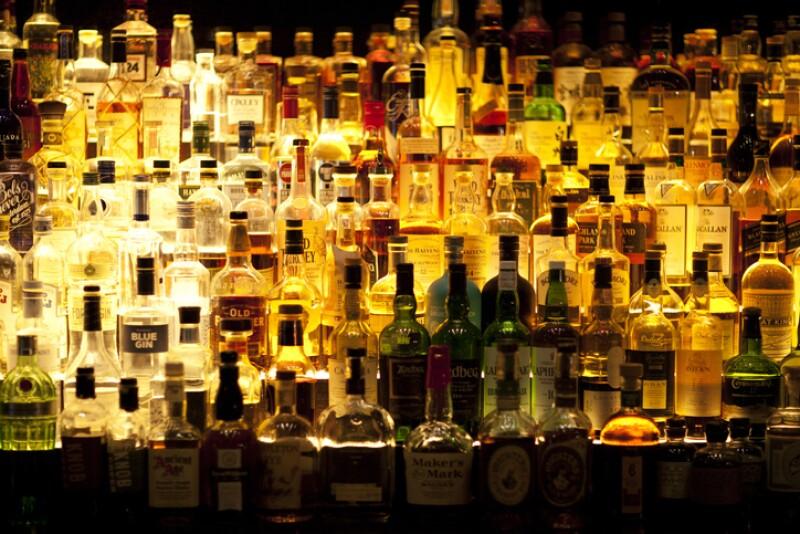 Bebidas envases alcohol